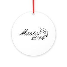 Master 2014 Ornament (Round)