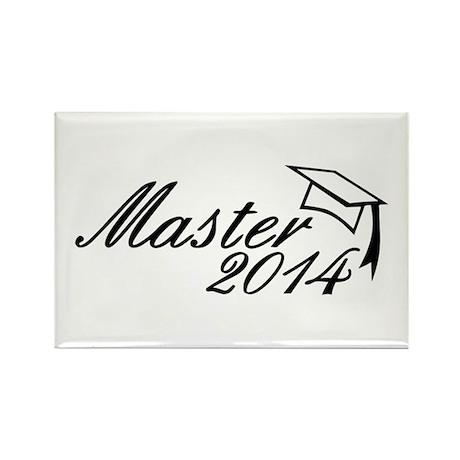 Master 2014 Rectangle Magnet