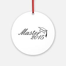 Master 2015 Ornament (Round)
