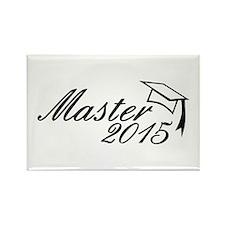 Master 2015 Rectangle Magnet