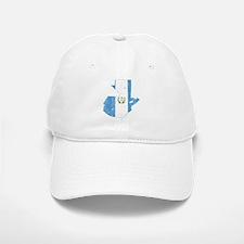 Guatemala Flag And Map Baseball Baseball Cap