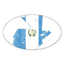 Guatemala Flag And Map Decal