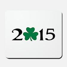 2015 shamrock Mousepad