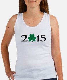 2015 shamrock Women's Tank Top