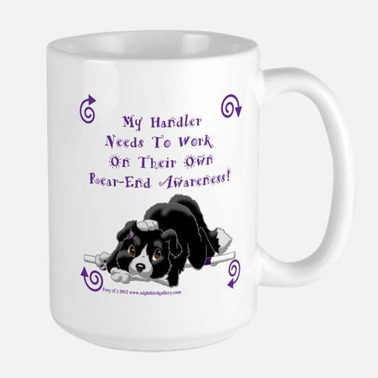 Handler Rear-end Awareness Large Mug