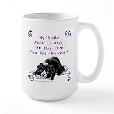 Handler Rear-end Awareness Mug