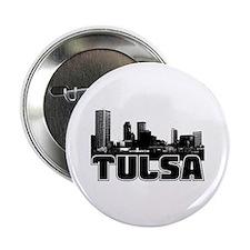 """Tulsa Skyline 2.25"""" Button"""