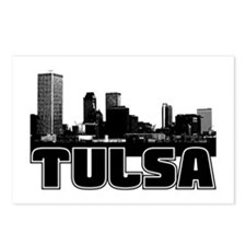 Tulsa Skyline Postcards (Package of 8)