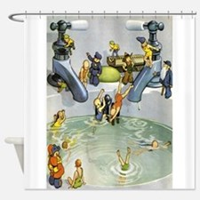 Teenie Weenies Shower Curtain