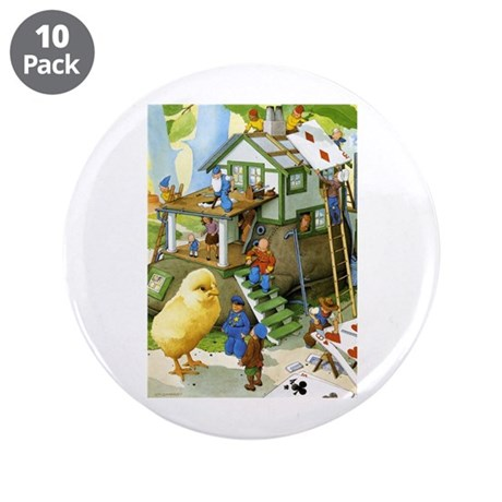 "Teenie Weenies 3.5"" Button (10 pack)"