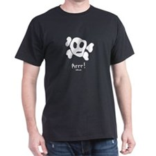 Arrr! Black T-Shirt