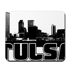 Tulsa Skyline Mousepad