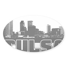 Tulsa Skyline Decal