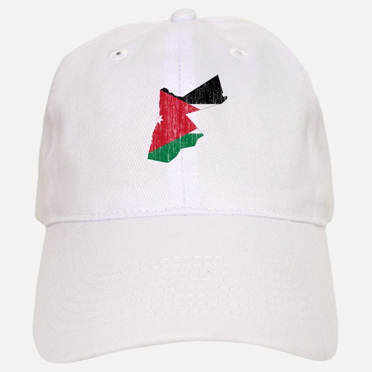 Jordan Flag And Map Baseball Baseball Cap