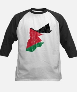 Jordan Flag And Map Kids Baseball Jersey