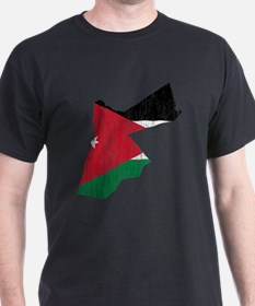 Jordan Flag And Map T-Shirt