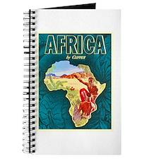 Africa Travel Poster 1 Journal