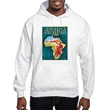 Africa Travel Poster 1 Hoodie