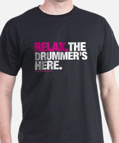 Relax-BigPink, reversed T-Shirt