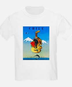 Chile Travel Poster 1 T-Shirt