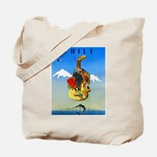Chile Travel Poster 1 Tote Bag