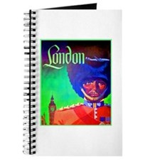 London Travel Poster 1 Journal