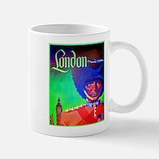London Travel Poster 1 Mug