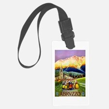 Abruzzo Italy Travel Poster 1 Luggage Tag