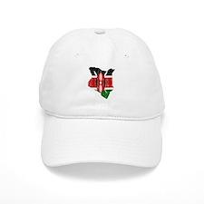 Kenya Flag And Map Baseball Cap