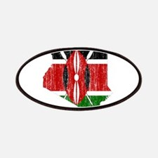 Kenya Flag And Map Patches