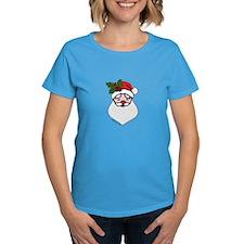 Santa with Holly Sprig Tee