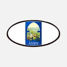 Assisi Italy Travel Poster 1 Patches