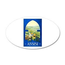 Assisi Italy Travel Poster 1 Wall Decal