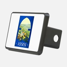 Assisi Italy Travel Poster 1 Hitch Cover