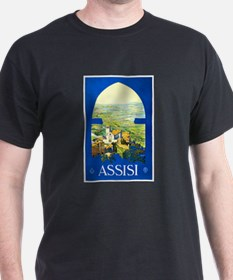 Assisi Italy Travel Poster 1 T-Shirt