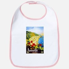 Amalfi Italy Travel Poster 1 Bib