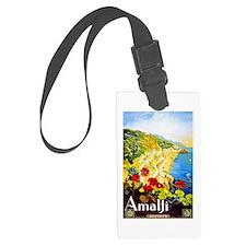 Amalfi Italy Travel Poster 1 Luggage Tag