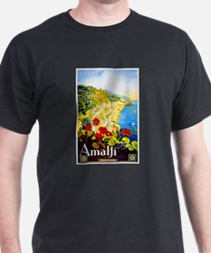 Amalfi Italy Travel Poster 1 T-Shirt