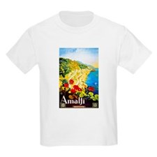Amalfi Italy Travel Poster 1 T-Shirt