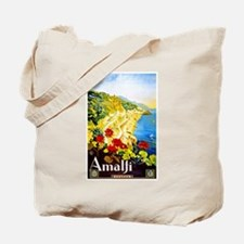 Amalfi Italy Travel Poster 1 Tote Bag