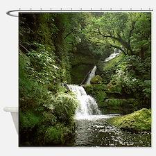 McLean Falls NZ Shower Curtain