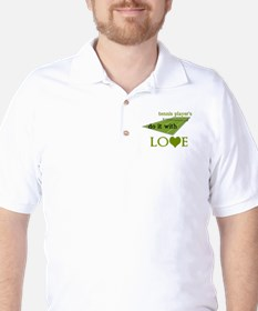 TENNIS PLAYERS DO IT WITH LOVE Golf Shirt
