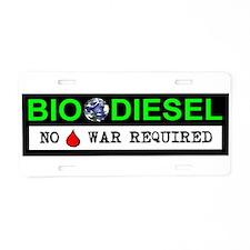 BIODIESEL Aluminum License Plate