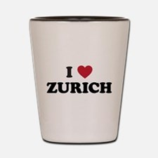 I Love Zurich Shot Glass