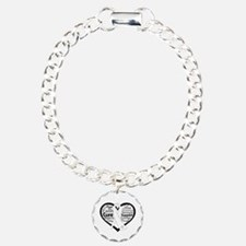 Words of Hope Lung Disease Charm Bracelet, One Cha