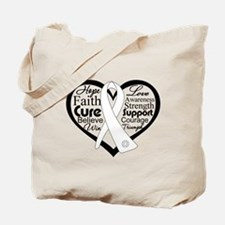 Words of Hope Lung Disease Tote Bag