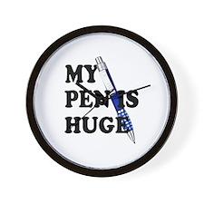 Huge Pen Wall Clock
