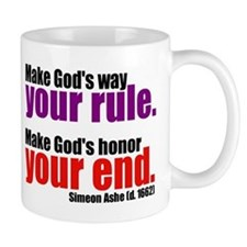 God's Way and God's Rule Mug