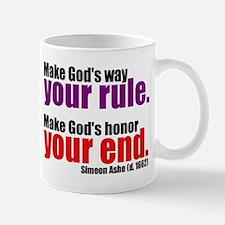 God's Way and God's Rule Mug