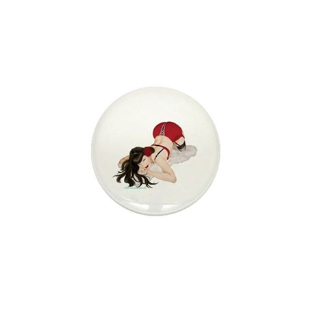 Rockabilly Pin Up Mini Button (100 pack)